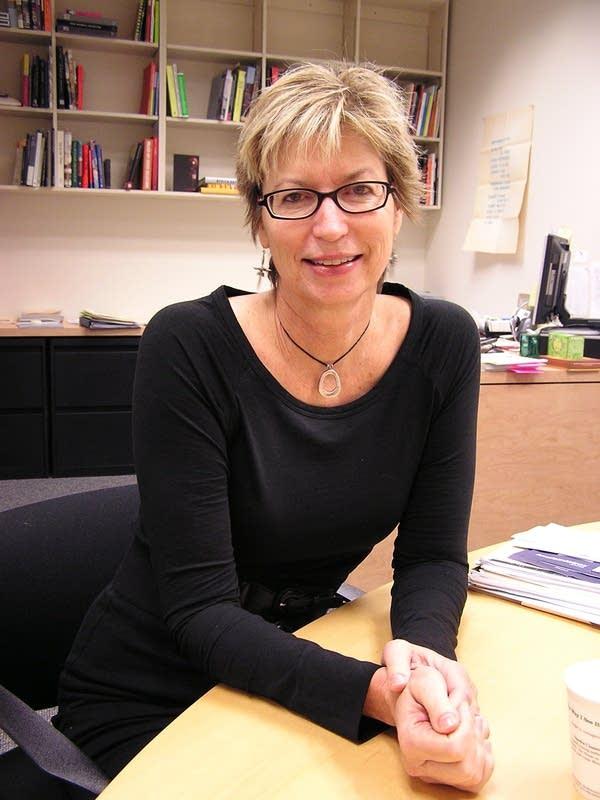 Contemporary art curator Liz Armstrong