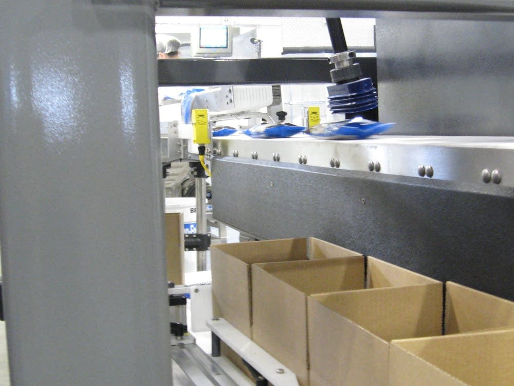 Robot at Giant Sunflower seeds factory