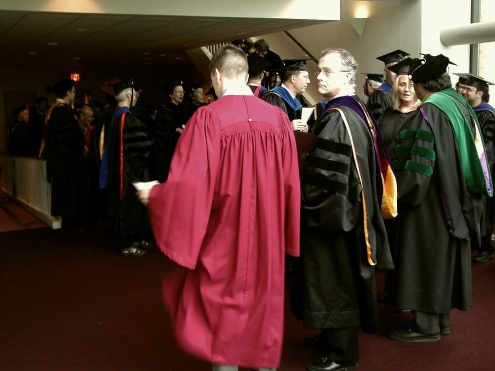 Students and faculty prepare for graduation