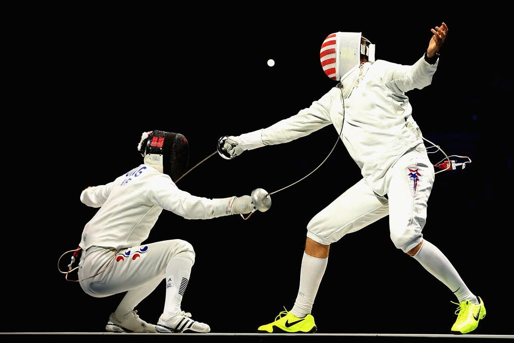 Olympics Day 5 - Fencing