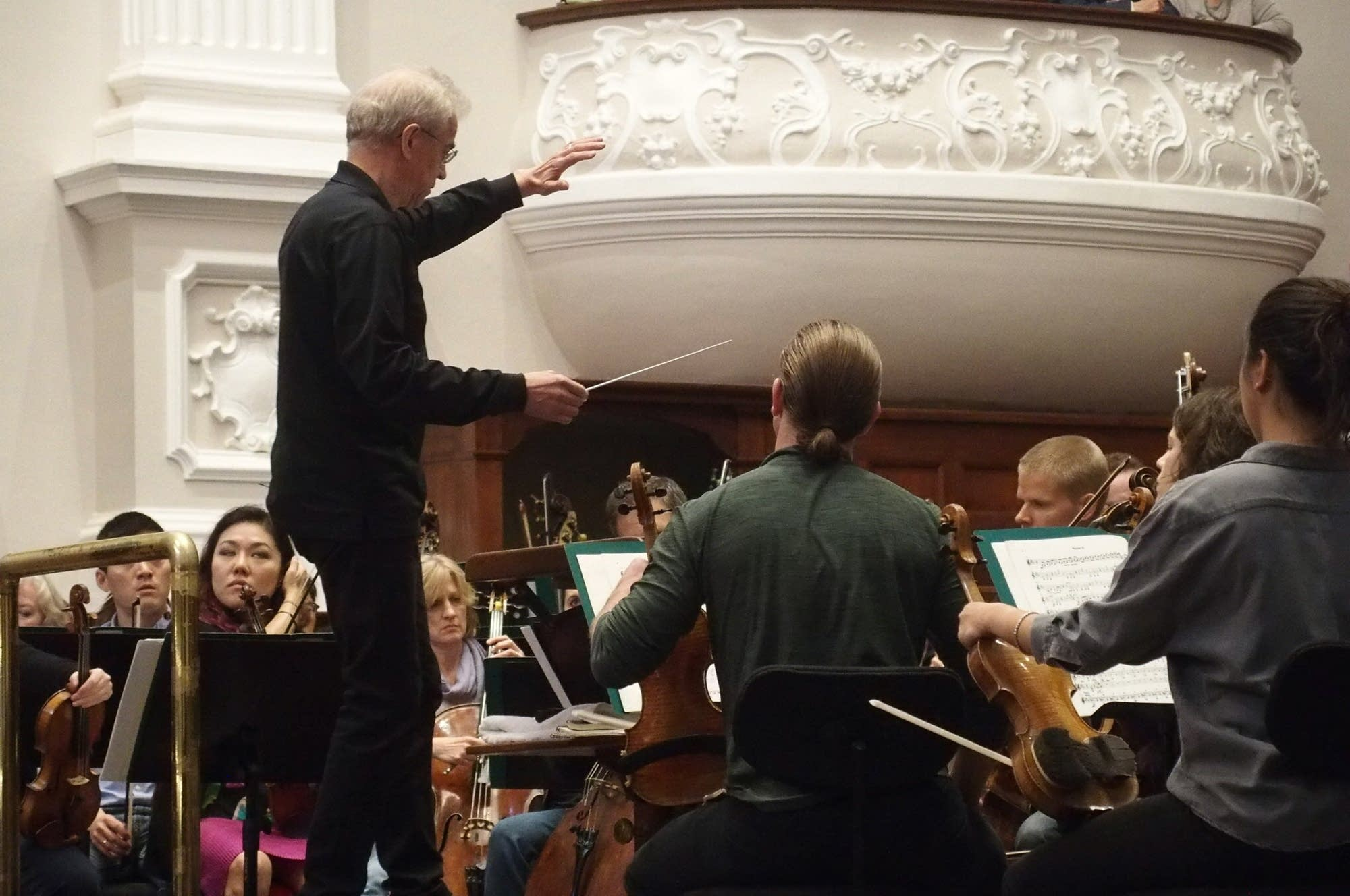 Minnesota Orchestra Music Director Osmo Vanska.