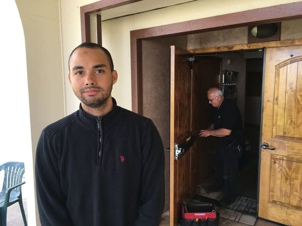 Drew Williams, a member of the Eugene Islamic Center