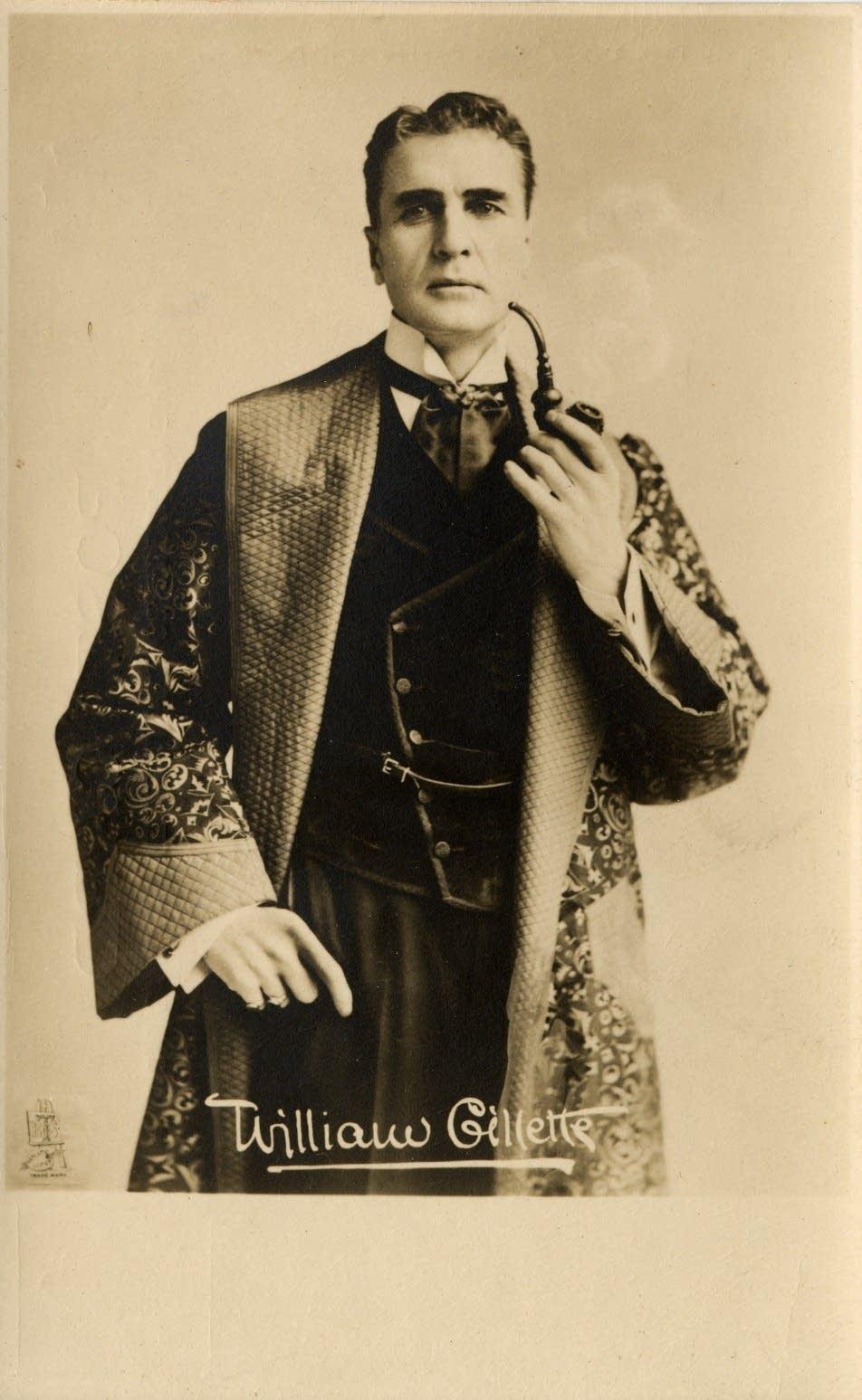 William Gillette in