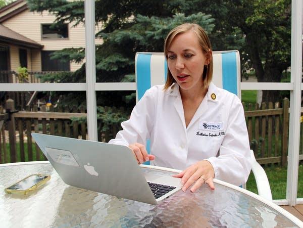 Nurse practitioner Kate Estrada