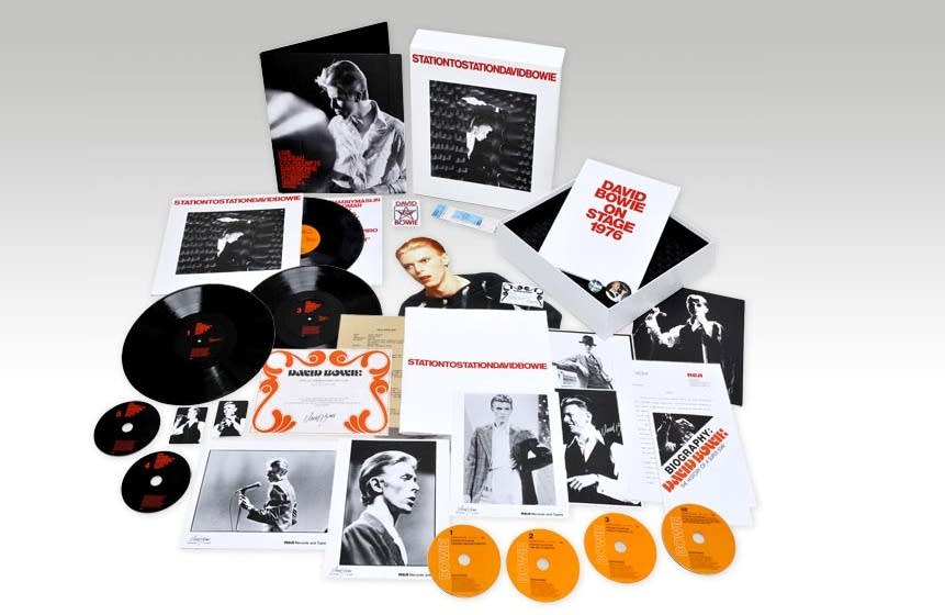 Station to Station Deluxe Box set