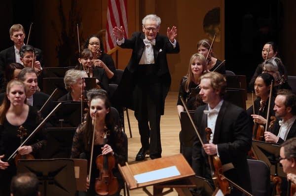 Orchestra conductor Stanislaw Skrowaczewski