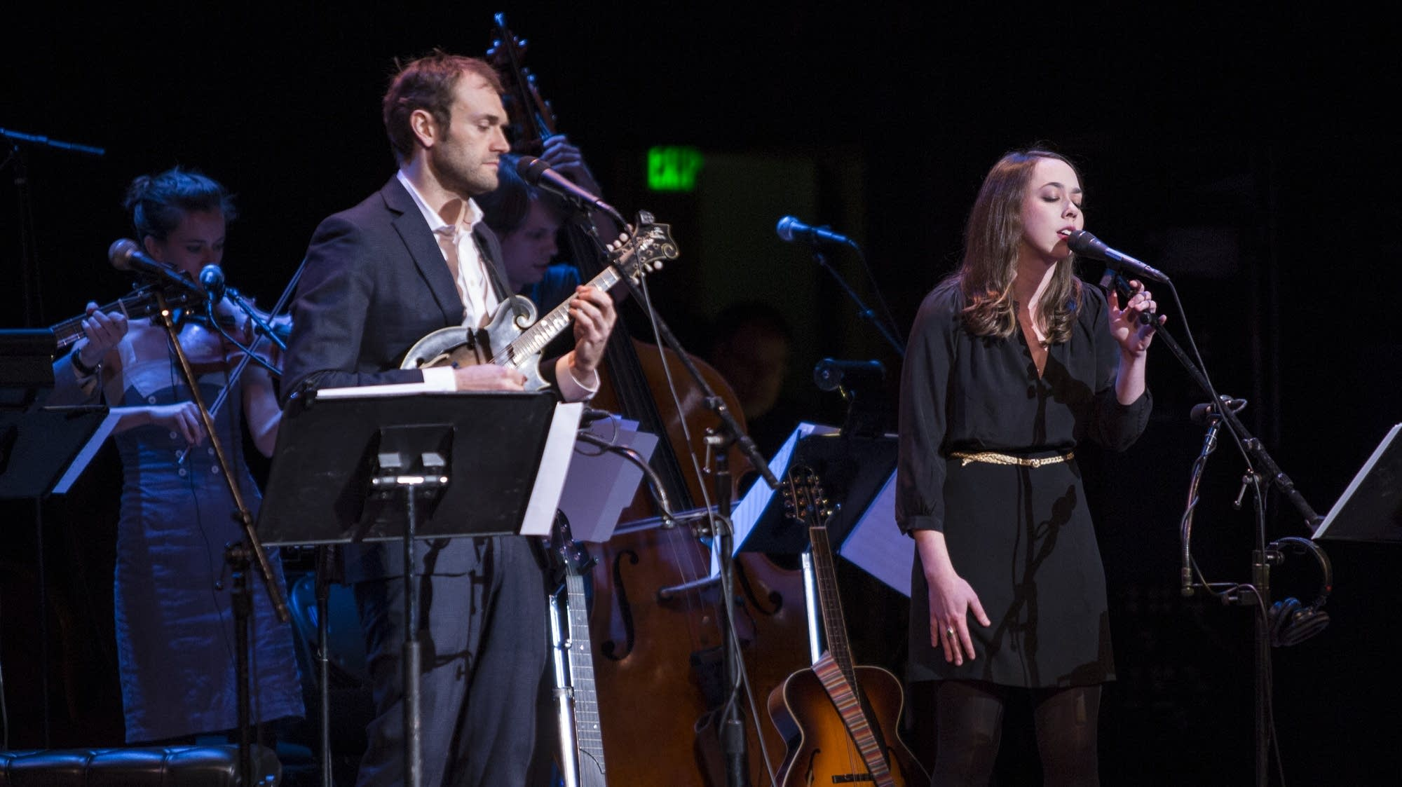 Chis Thile and Sarah Jarosz