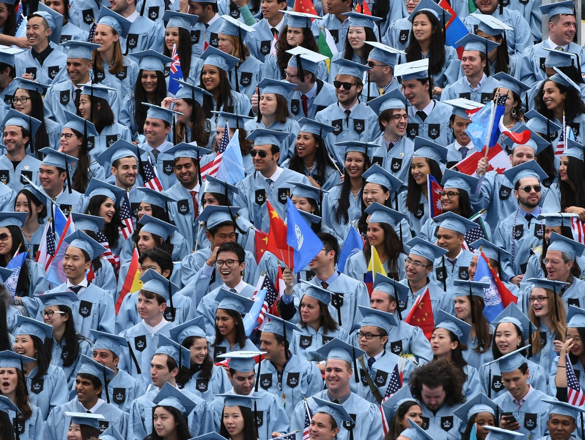 US-EDUCATION-COLUMBIA-COMMENCEMENT