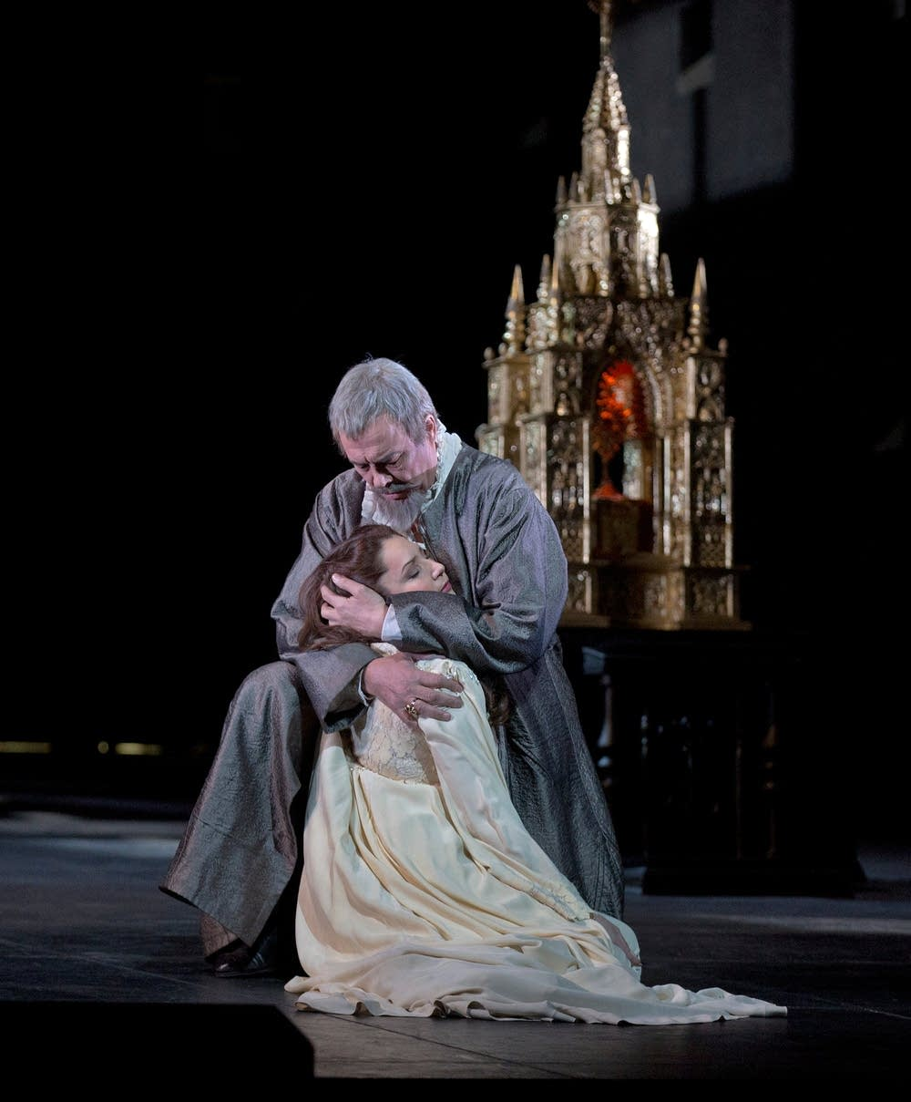 A scene from Verdi's Don Carlo
