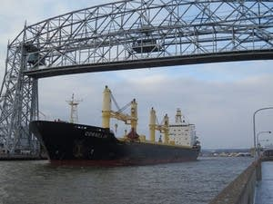 The Cornelia leaves Duluth.