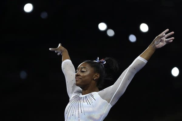 Simone Biles of the United States