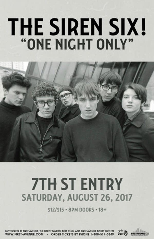 The Siren Six flyer