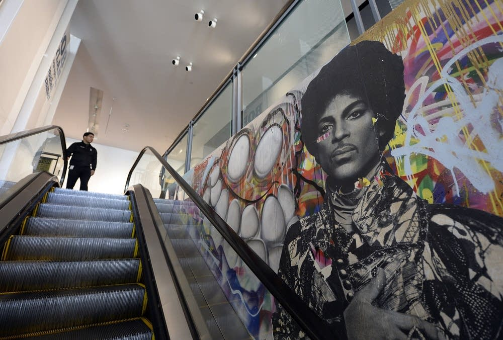 Prince the activist minnesota public radio news for Chris brown mural