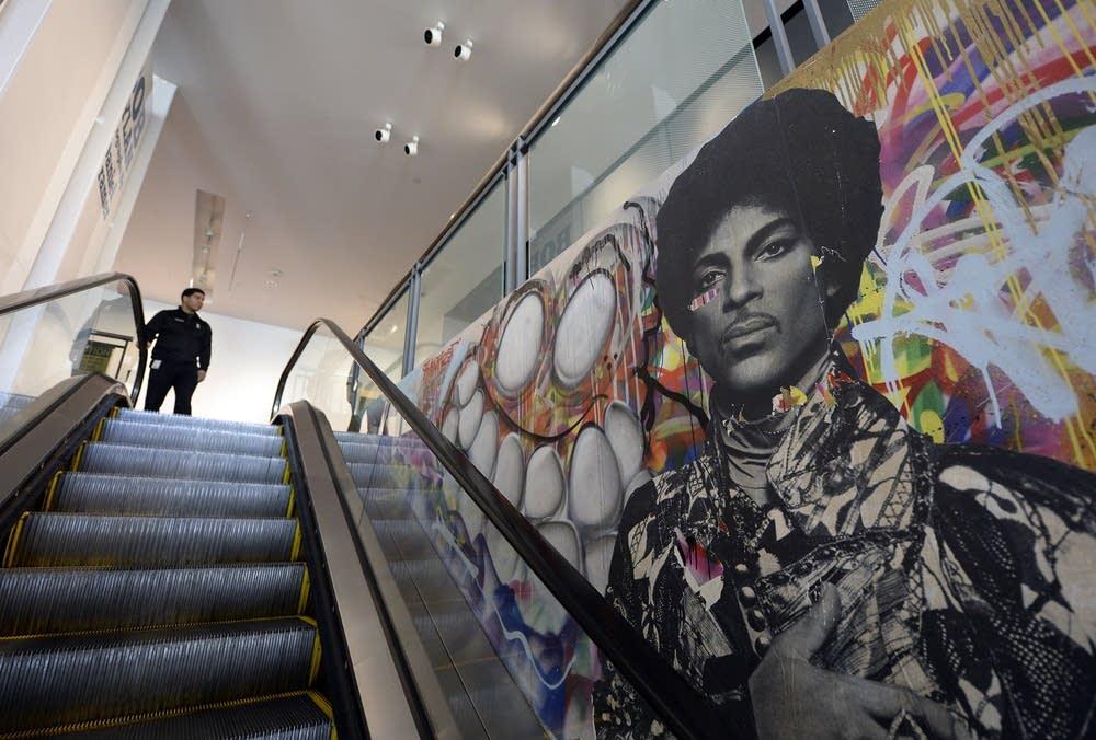 Prince the activist minnesota public radio news for Chris brown mural