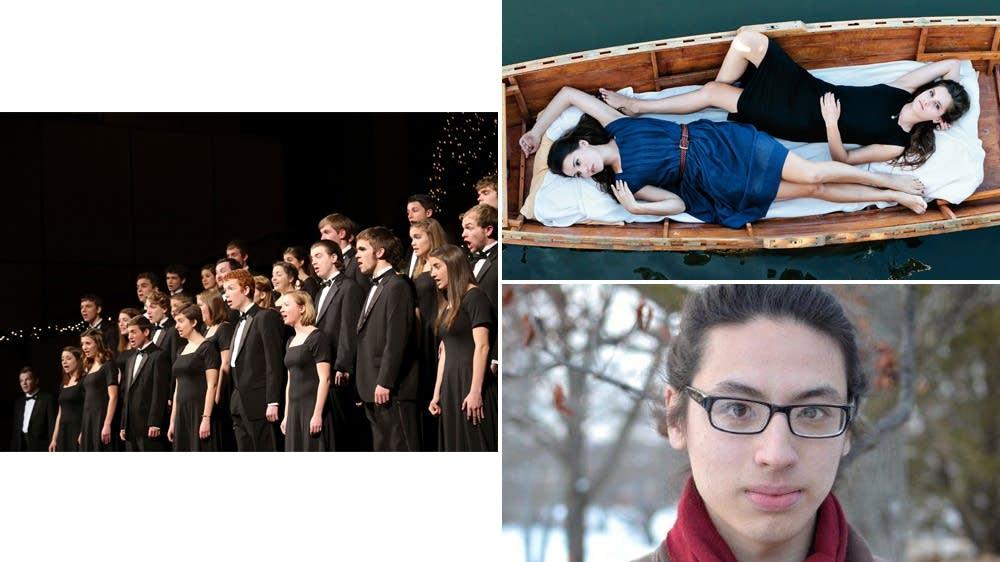 Goshen College Chamber Choir, Lily & Madeleine, Ethan Setiawan