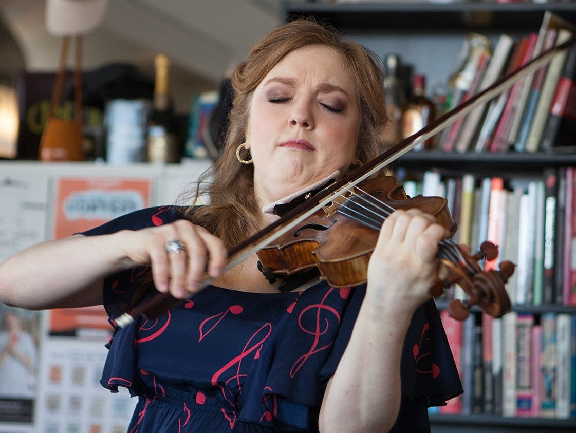 Rachel Barton Pine performs at Tiny Desk