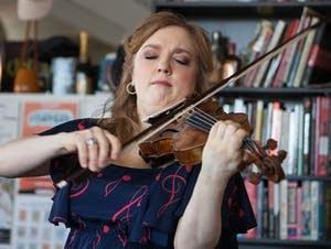 Rachel Barton Pine performs at Tiny Desk