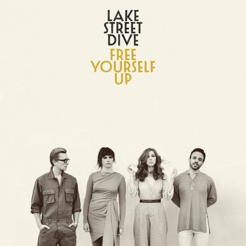 Lake street dive announce new album free yourself up share good cover art for lake street dives album free yourself solutioingenieria Image collections