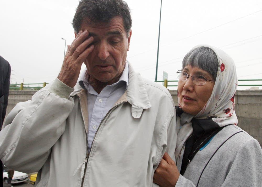 Reza Saberi and his Japanese wife Akiko