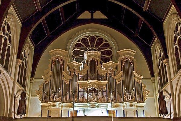 2008 GoART Casparini organ at Christ Church Episcopal, Rochester, New York