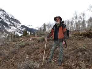 David Inouye poses for a photo in Gothic, Colo.