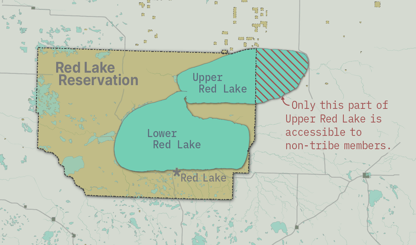 Upper and Lower Red Lake