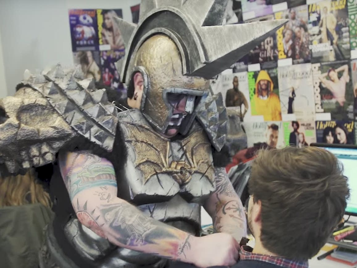 GWAR tell Billboard's charts manager how it's gonna be.