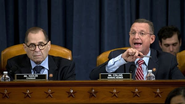 Two members of the House Judiciary Commitee