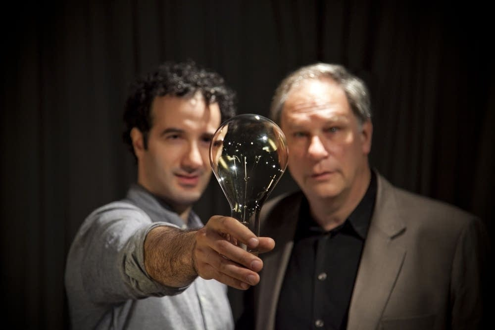 Jad Abumrad and Robert Krulwich