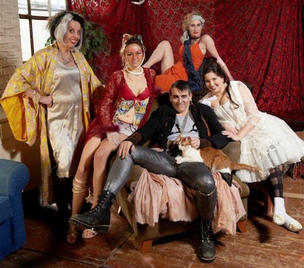 Cast of Threepenny Opera