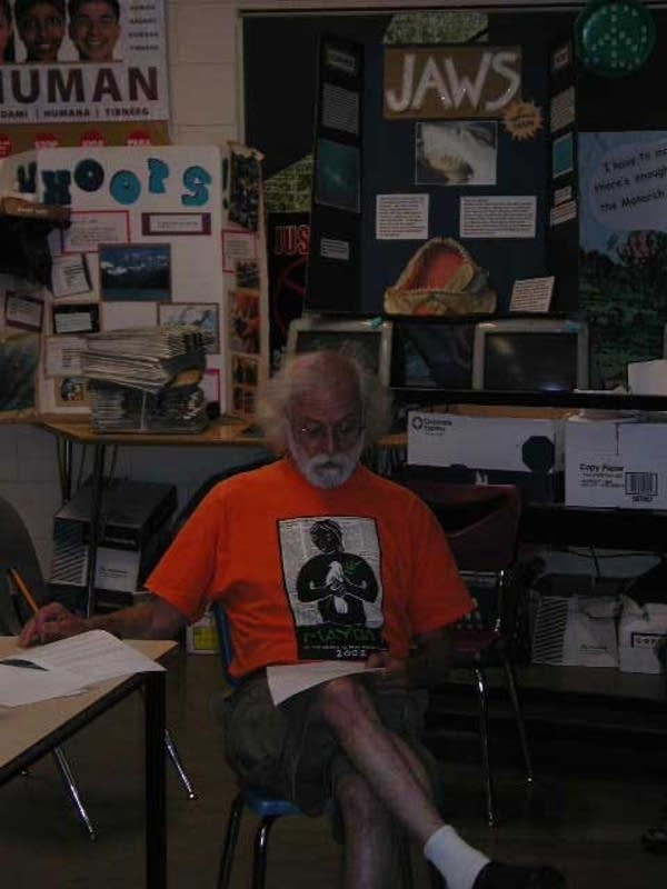 Teacher Joe Musich