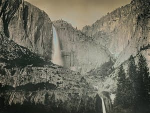 Yosemite Falls, shown in May 2011