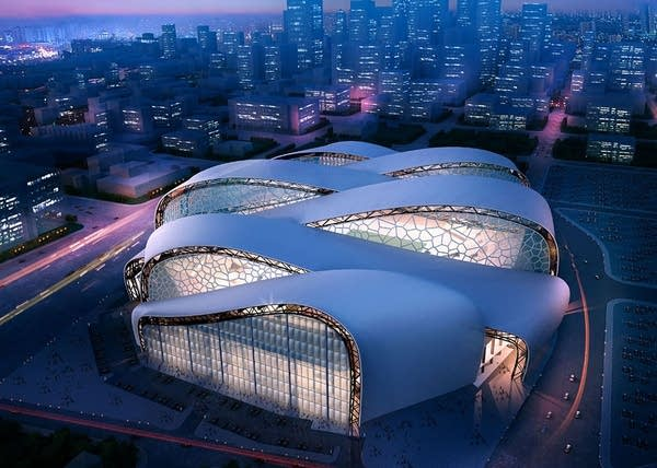 """A """"ribbon-like"""" roof concept"""