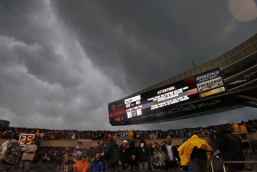 Storm at Bears game