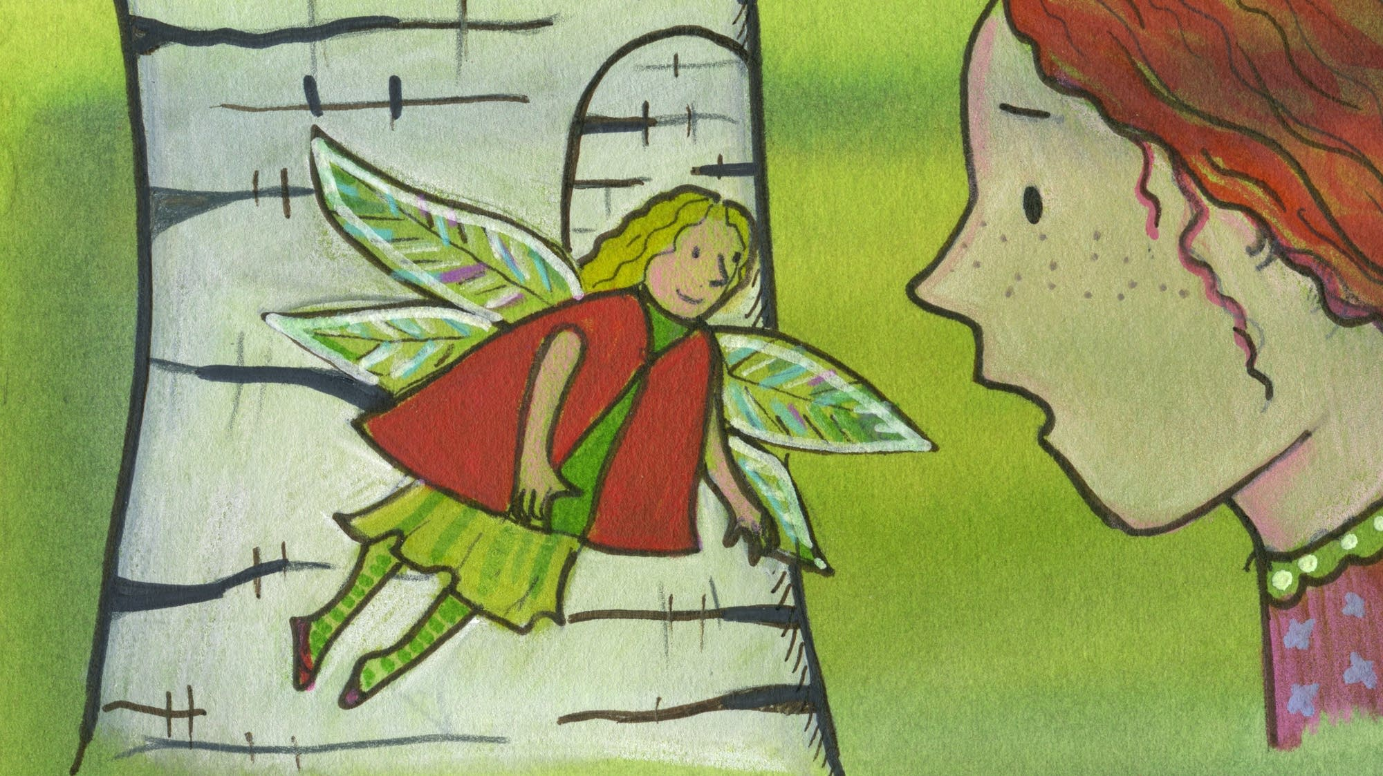 Irish folk tale: Nora Mavourneen and the Fairy Queen