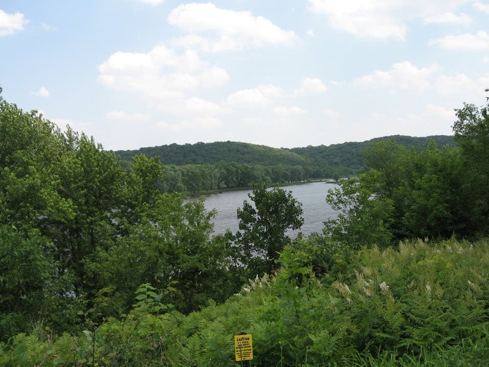 A view of the St. Croix River