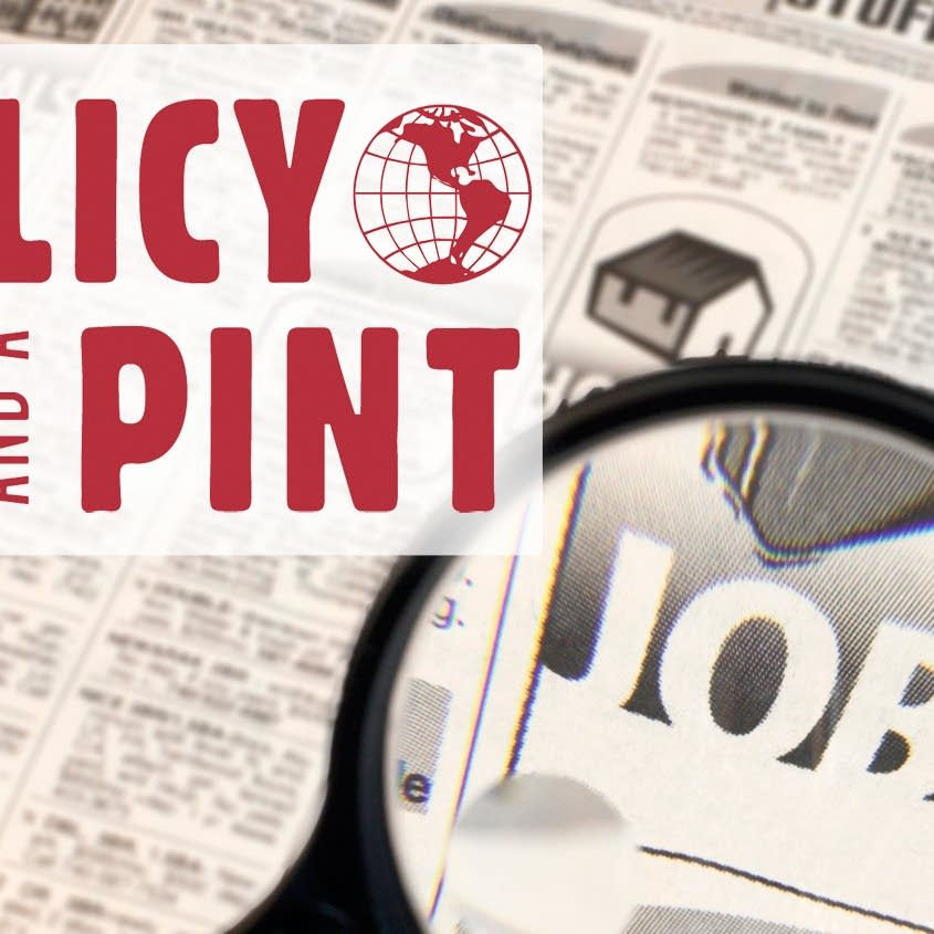 Policy and a Pint graphic