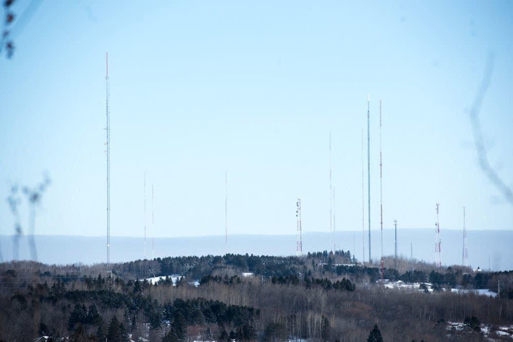 Duluth's antenna farm