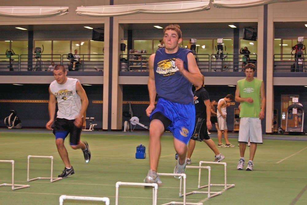BSU track practice