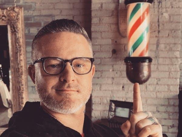 Chris Pomeleo owner of Prohibition Barbers