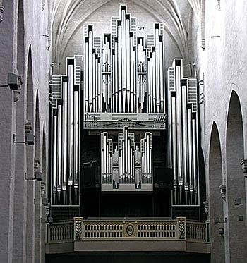 1980 Virtanen organ at Turku Cathedral, Finland