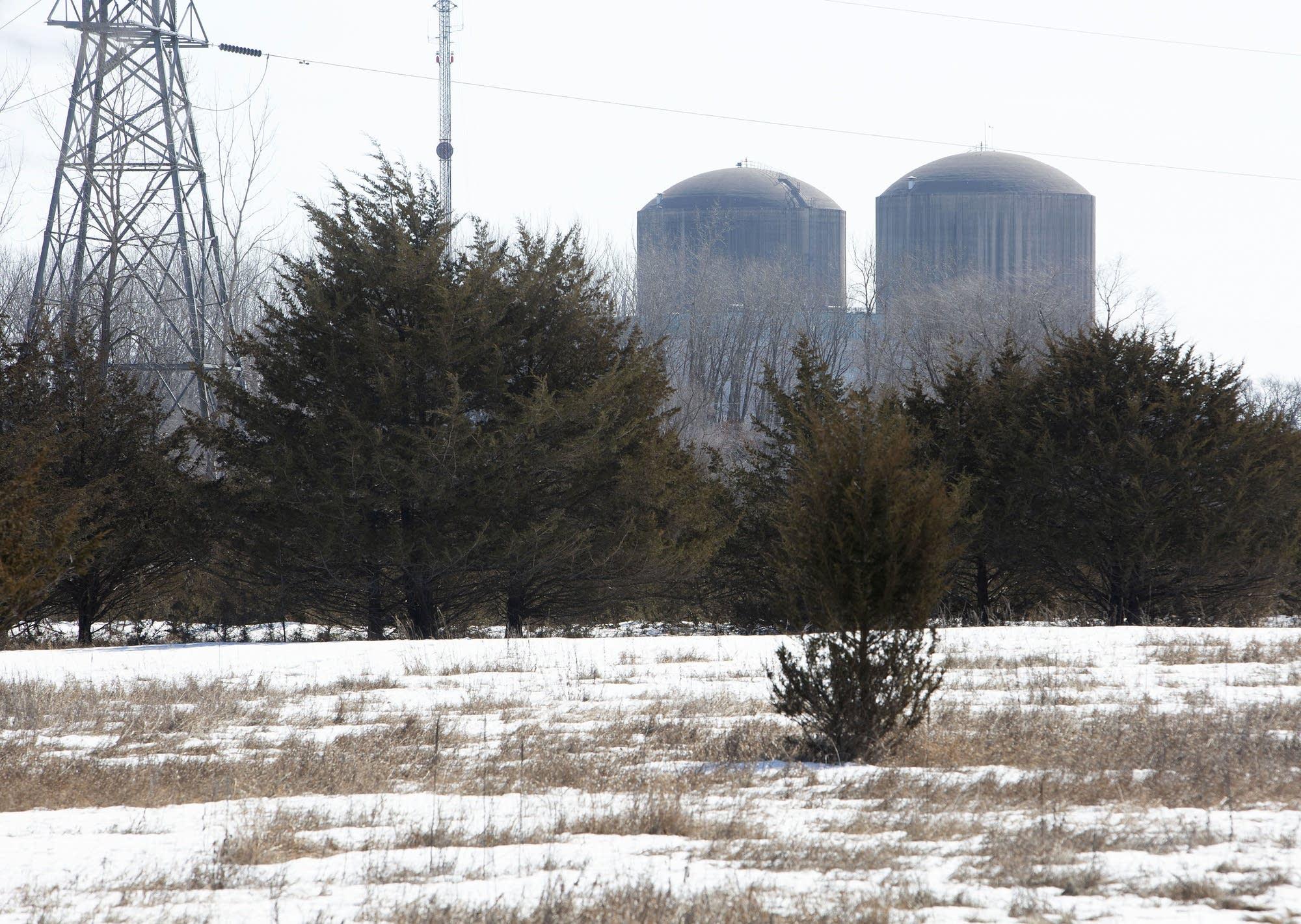 The Xcel Energy's nuclear power plant near Prairie Island Indian Community