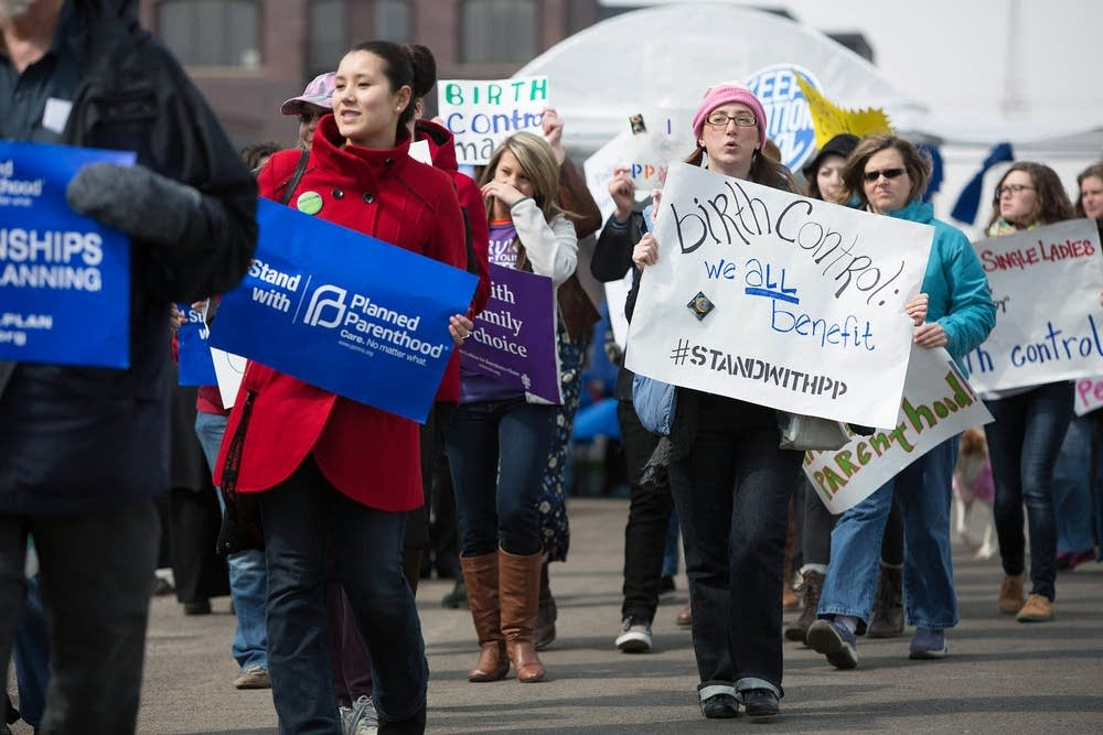 Planned Parenthood demonstration