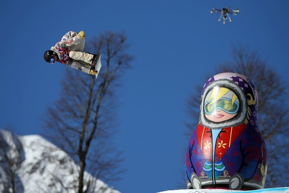Sage Kotsenburg snowboarding