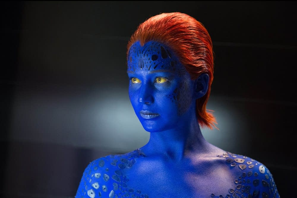Jennifer Lawrence in 'X-Men'