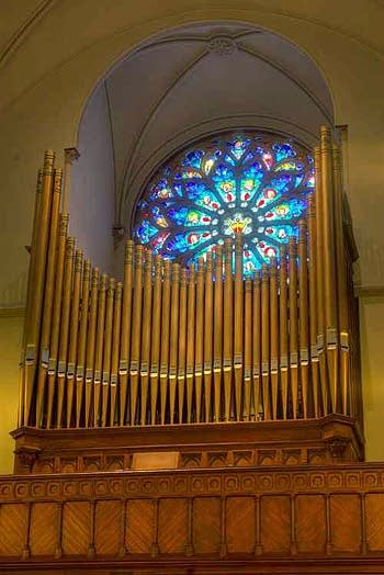 1994 Lively-Fulcher organ at St. Patrick's Catholic Church, Washington DC