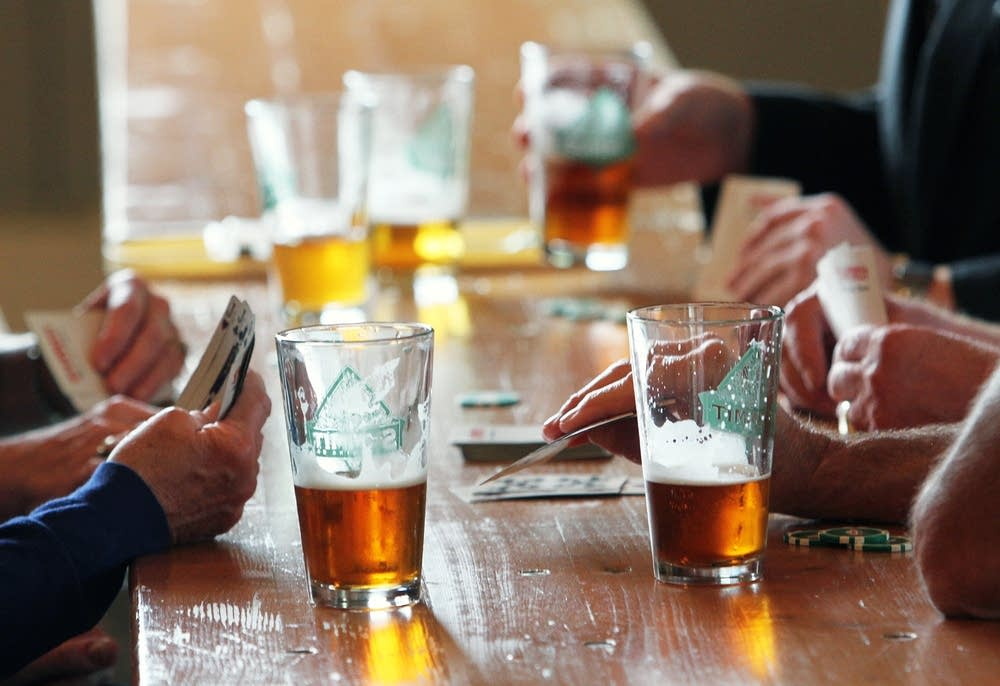 Beer and cards