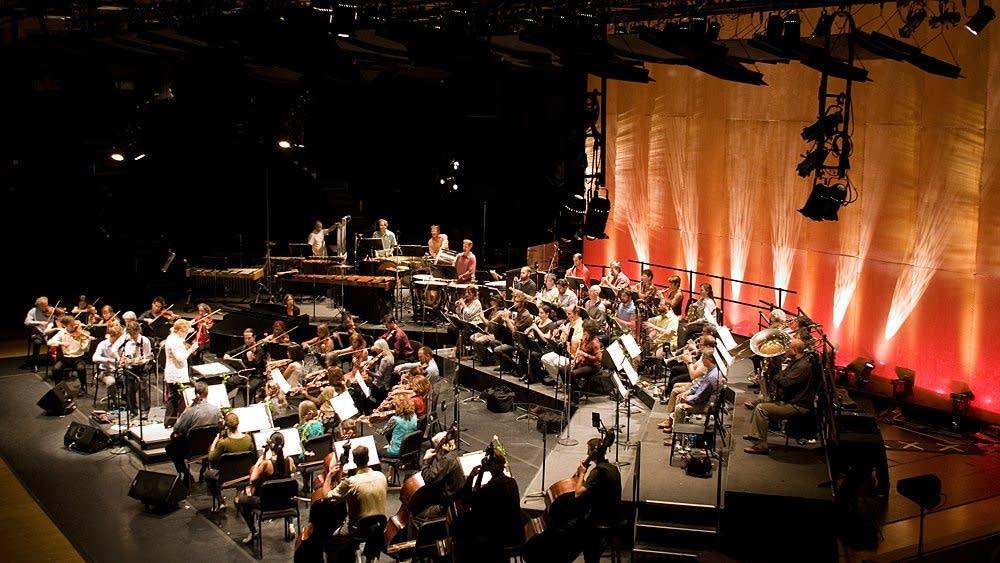 Marin Alsop leads orchestra at Cabrillo Festival