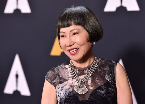 Amy Tan attends a celebration of the film 'The Joy Luck Club.'