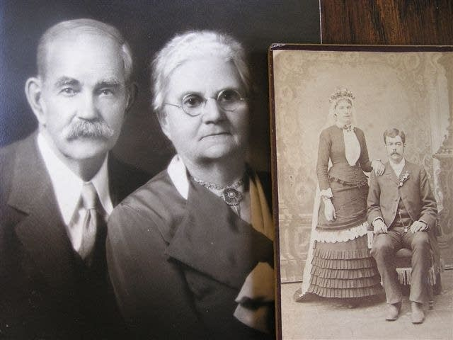 Ole M. and Martha Olson